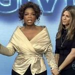 "Jennifer Aniston on Oprah""s Big Give 19549"