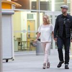 Jennie Garth goes to the movies with Noah Abrams  123535