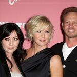Shannen Doherty, Jennie Garth, Ian Ziering at Jennie Garth's 40th Birthday Celebration & Premiere Party For Jennie Garth: A Little Bit Country 111908