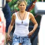 Jennifer Aniston on set of We Are The Millers in North Carolina  122368