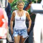 Jennifer Aniston on set of We Are The Millers in North Carolina  122371