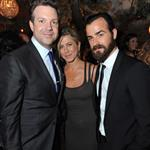 Jennifer Aniston with Justin Theroux and Jason Sudeikis at MTV Movie Awards afterparty 86790