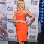 Jennifer Aniston promotes fragrance in New York with a settled face and bad shoes 84801