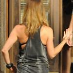 Jennifer Aniston on the set of We Are The Millers  122789