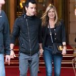 Jennifer Aniston and Justin Theroux leave The Ritz Hotel in Paris 117455
