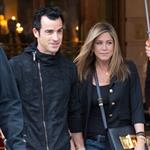 Jennifer Aniston and Justin Theroux leave The Ritz Hotel in Paris 117457