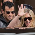 Jennifer Aniston and Justin Theroux leave The Ritz Hotel in Paris 117566