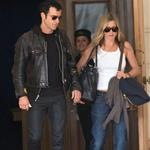 Jennifer Aniston and Justin Theroux leave The Ritz Hotel in Paris 117570