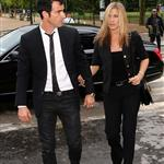 Jennifer Aniston and Justin Theroux head to dinner at the Eiffel Tower in Paris 117572