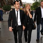 Jennifer Aniston and Justin Theroux head to dinner at the Eiffel Tower in Paris 117575