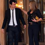 Jennifer Aniston and Justin Theroux head to dinner at the Eiffel Tower in Paris 117576