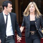 Jennifer Aniston and Justin Theroux head to dinner at the Eiffel Tower in Paris 117581