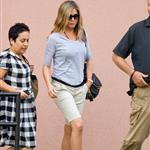 Jennifer Aniston leaves the cinema in North Carolina 123785