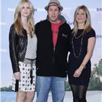 ennifer Aniston with Adam Sandler and Brooklyn Decker in Berlin to promote Just Go With It 79606