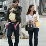 Jennifer Garner, Ben Affleck and daughter Violet out in Santa Monica  99599