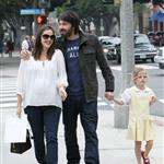 Jennifer Garner, Ben Affleck and daughter Violet out in Santa Monica  99608