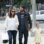 Jennifer Garner, Ben Affleck and daughter Violet out in Santa Monica  99610