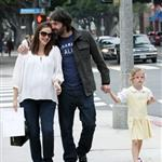 Jennifer Garner, Ben Affleck and daughter Violet out in Santa Monica  99611