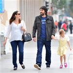 Jennifer Garner, Ben Affleck and daughter Violet out in Santa Monica  99614