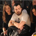 Justin Theroux and ex-girlfriend Heidi Bivens  87463