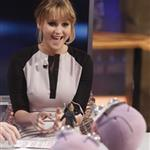 Jennifer Lawrence appears on the El Hormiguero spanish TV Show Madrid, Spain 111845