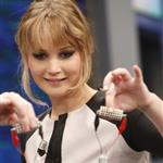 Jennifer Lawrence appears on the El Hormiguero spanish TV Show Madrid, Spain 111855