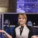 Jennifer Lawrence appears on the El Hormiguero spanish TV Show Madrid, Spain 111859