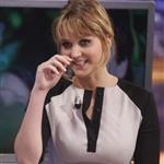 Jennifer Lawrence appears on the El Hormiguero spanish TV Show Madrid, Spain 111865