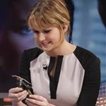 Jennifer Lawrence appears on the El Hormiguero spanish TV Show Madrid, Spain 111866