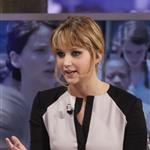 Jennifer Lawrence appears on the El Hormiguero spanish TV Show Madrid, Spain 111874