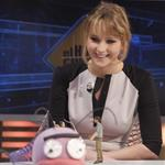 Jennifer Lawrence appears on the El Hormiguero spanish TV Show Madrid, Spain 111881