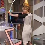 Jennifer Lawrence appears on the El Hormiguero spanish TV Show Madrid, Spain 111885