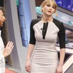 Jennifer Lawrence appears on the El Hormiguero spanish TV Show Madrid, Spain 111887
