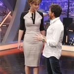 Jennifer Lawrence appears on the El Hormiguero spanish TV Show Madrid, Spain 111888