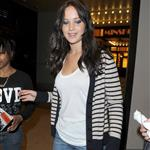 Jennifer Lawrence promoting X-Men: First Class at MTV studios NYC  85775