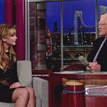 Jennifer Lawrence at The Late Show with David Letterman 109438