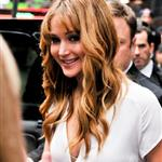 Jennifer Lawrence arrives at Good Morning America studios 109448
