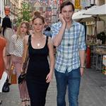 Jennifer Lawrence and Nicholas Hoult out in London 115608