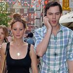 Jennifer Lawrence and Nicholas Hoult out in London 115609