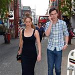 Jennifer Lawrence and Nicholas Hoult out in London 115617
