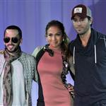 Jennifer Lopez, Enrique Iglesias and Wisin Y Yandel at the 2012 Mega Tour Press Conference Announcement  113003