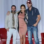 Jennifer Lopez, Enrique Iglesias and Wisin Y Yandel at the 2012 Mega Tour Press Conference Announcement  113005