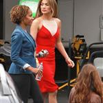 Jennifer Lopez arrives at American Idol 113249