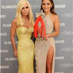 Jennifer Lopez and Donatella Versace at Glamour Woman of the Year Awards 2011  97997