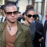 Jennifer Lopez and Casper Smart arrive at The Grove for the Grand Opening Of Robert Earl's Planet Dailies/Mixology 101 Los Angeles 110761