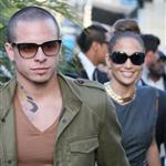 Jennifer Lopez and Casper Smart arrive at The Grove for the Grand Opening Of Robert Earl's Planet Dailies/Mixology 101 Los Angeles 110765