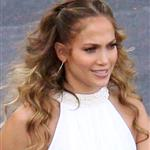 Jennifer Lopez arrives at the American Idol set  114333