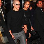 Jennifer Lopez and Casper Smart head out for dinner in New York City  125944