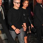 Jennifer Lopez and Casper Smart head out for dinner in New York City  125945