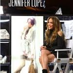 Jennifer Lopez at the Mohegan Sun Casino in Connecticut promote her exclusive fashion and home collection for Kohl's  96639